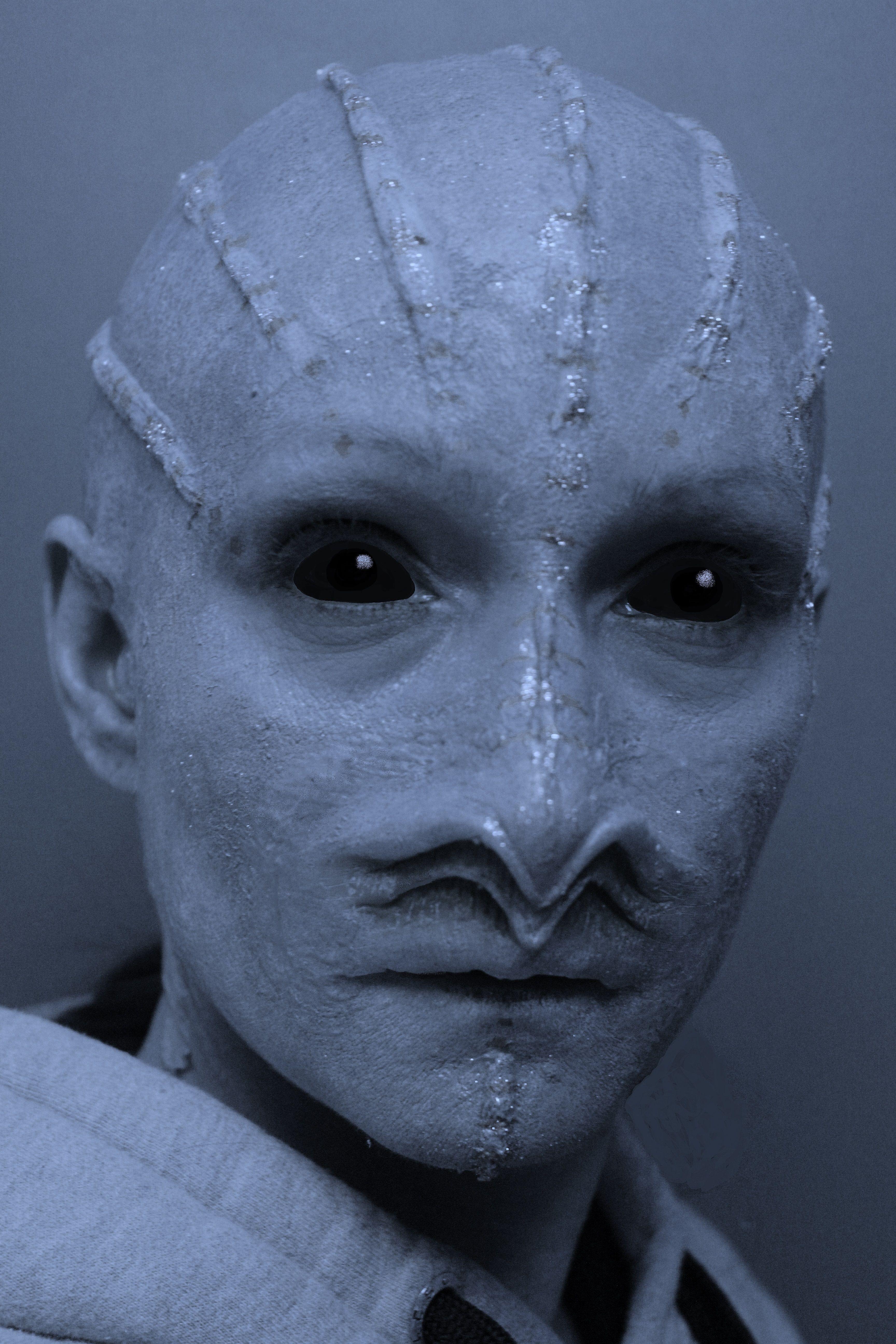 Alien prosthetic makeup by Rhonda Causton(Reel Twisted FX) | SPFX ...