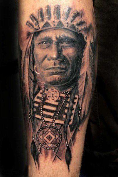 Indianer Frau Tattoo Indianer Tattoo Indisches 7