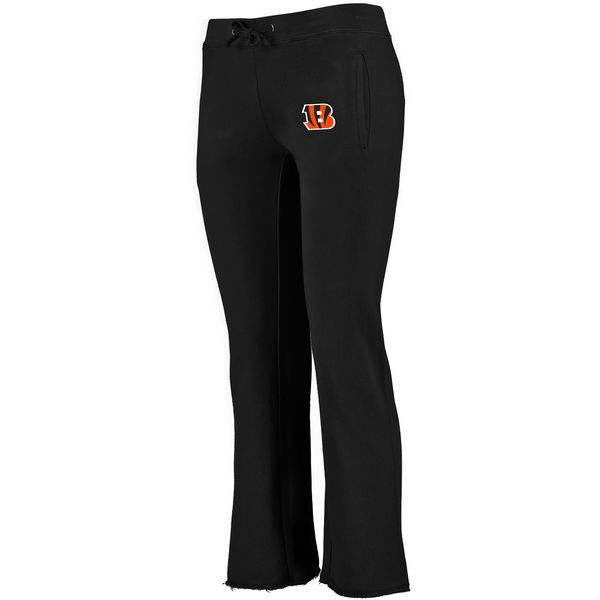 Cincinnati Bengals NFL Pro Line Women s Showtime Fleece Pants - Black -   26.99 d6bdab77cf