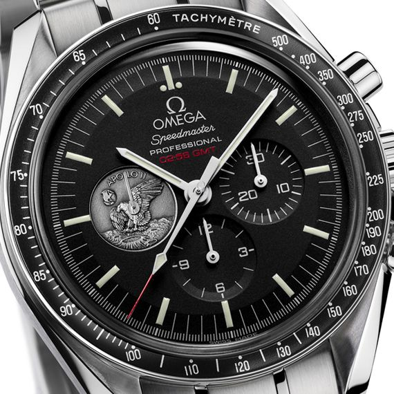 1010a33b420 omega speedmaster apollo 11 lunar landing 40th anniversary 02 Omega  Speedmaster Professional Apollo 11  40th Anniversary Limited Edition Watch
