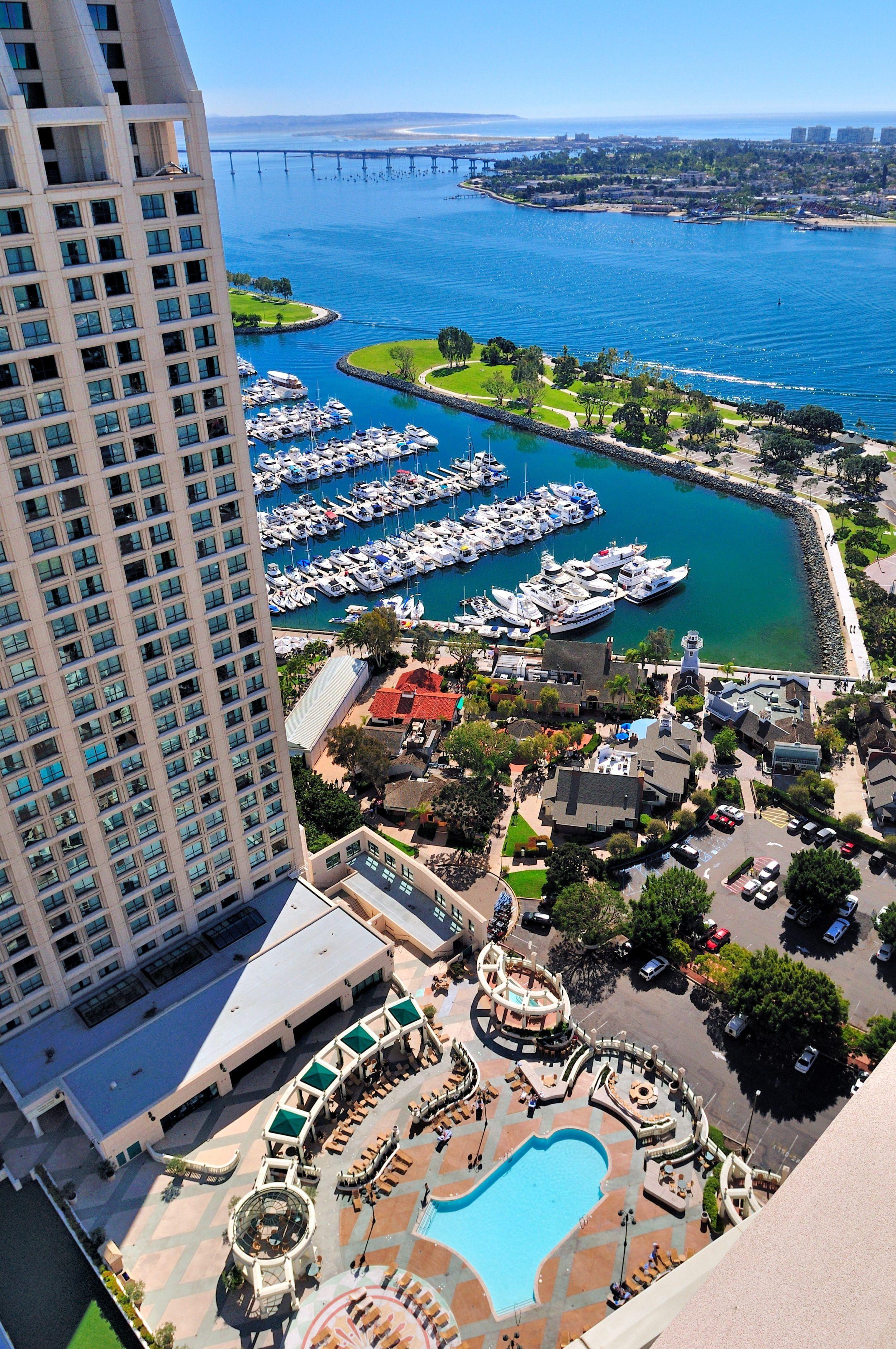 Manchester Grand Hyatt San Diego Review & Guide (2021) | La Jolla Mom | San  diego hotels, San diego travel, San diego vacation