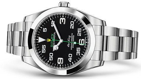 Rolex Oyster Perpetual Air-King Stainless Steel Watch
