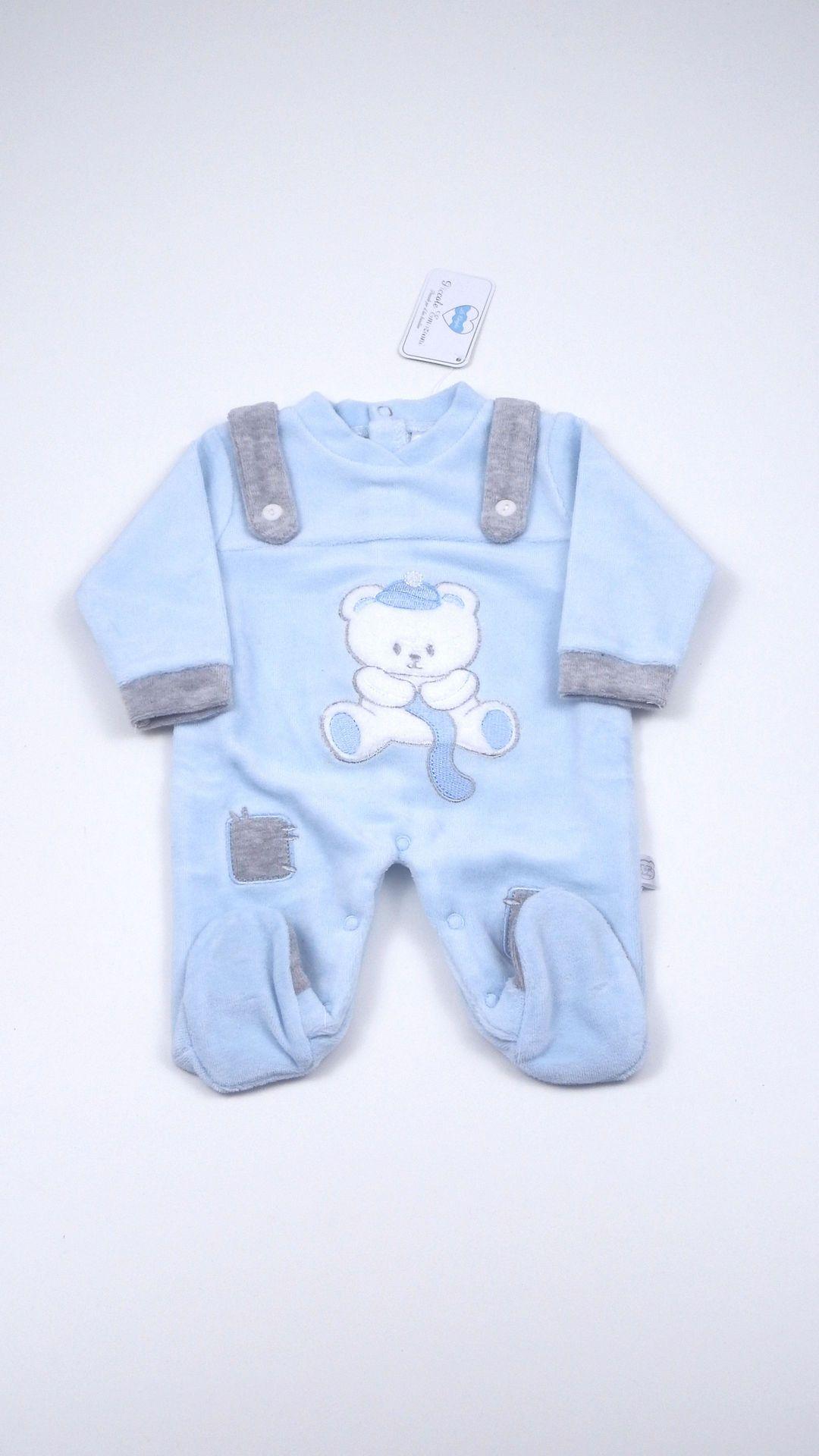 22c288d0509d8a Tutina Neonato T&R Baby - Corredino Nascita Bolle di Sapone ...