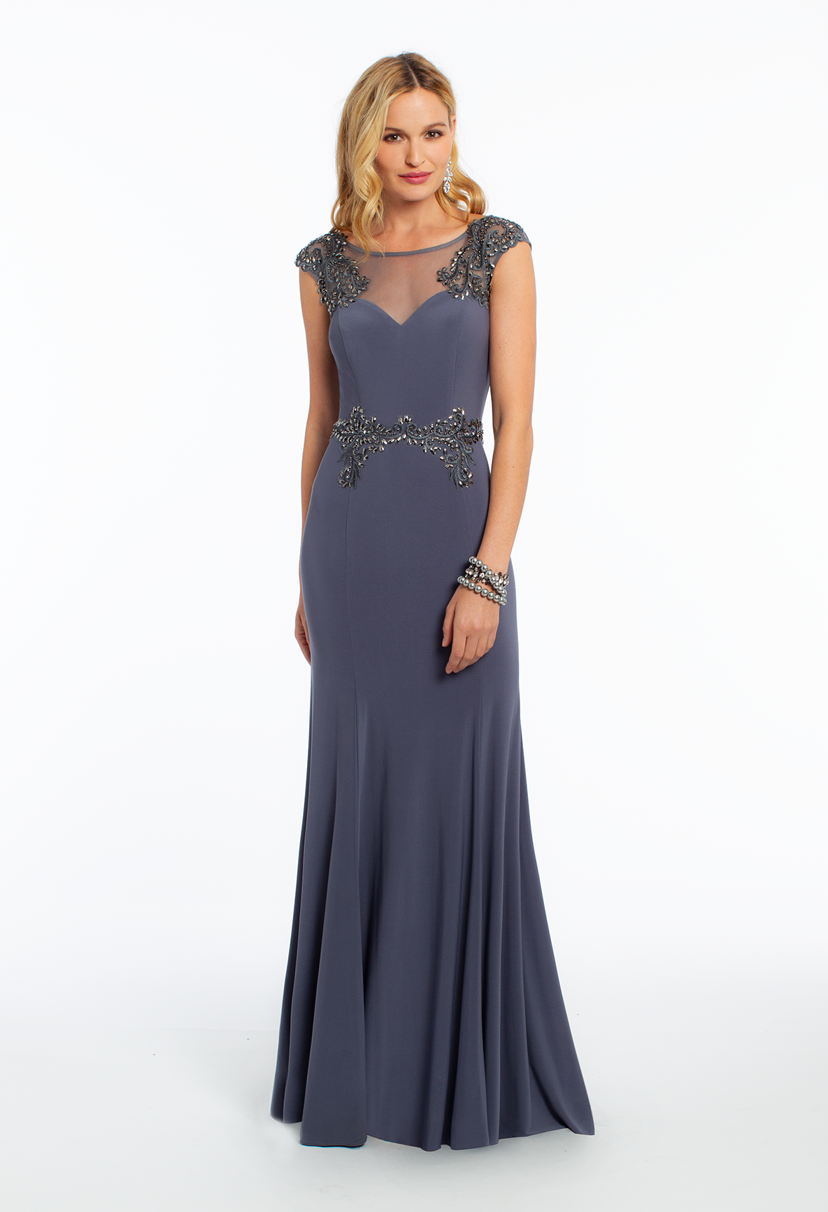 Capture their attention in a luxe illusion trend dress  while the illusion  neckline and fitted beaded bodice speak for themselves when it comes to  dazzling ... cc4837930