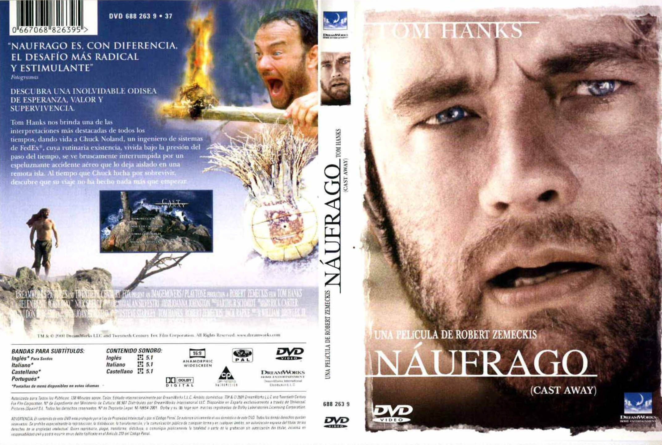 Náufrago It Movie Cast Cast Away 2000 Cast Away Movie