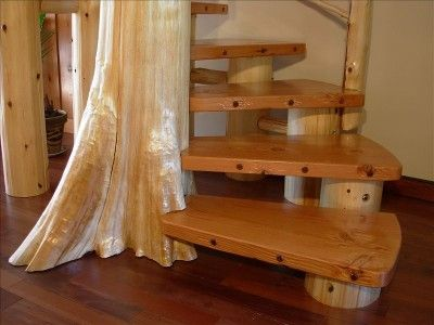 Best Wooden Outdoor Circular Stairs Rural Retreat Expansive 640 x 480