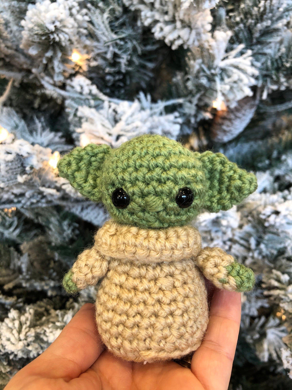 Crochet Baby Yoda Amigurumi Yoda Yoda Keychain Handmade Yoda Baby Yoda Ornament By Crochetbybm On Etsy Crochet Baby Crochet Octopus Amigurumi Free Pattern
