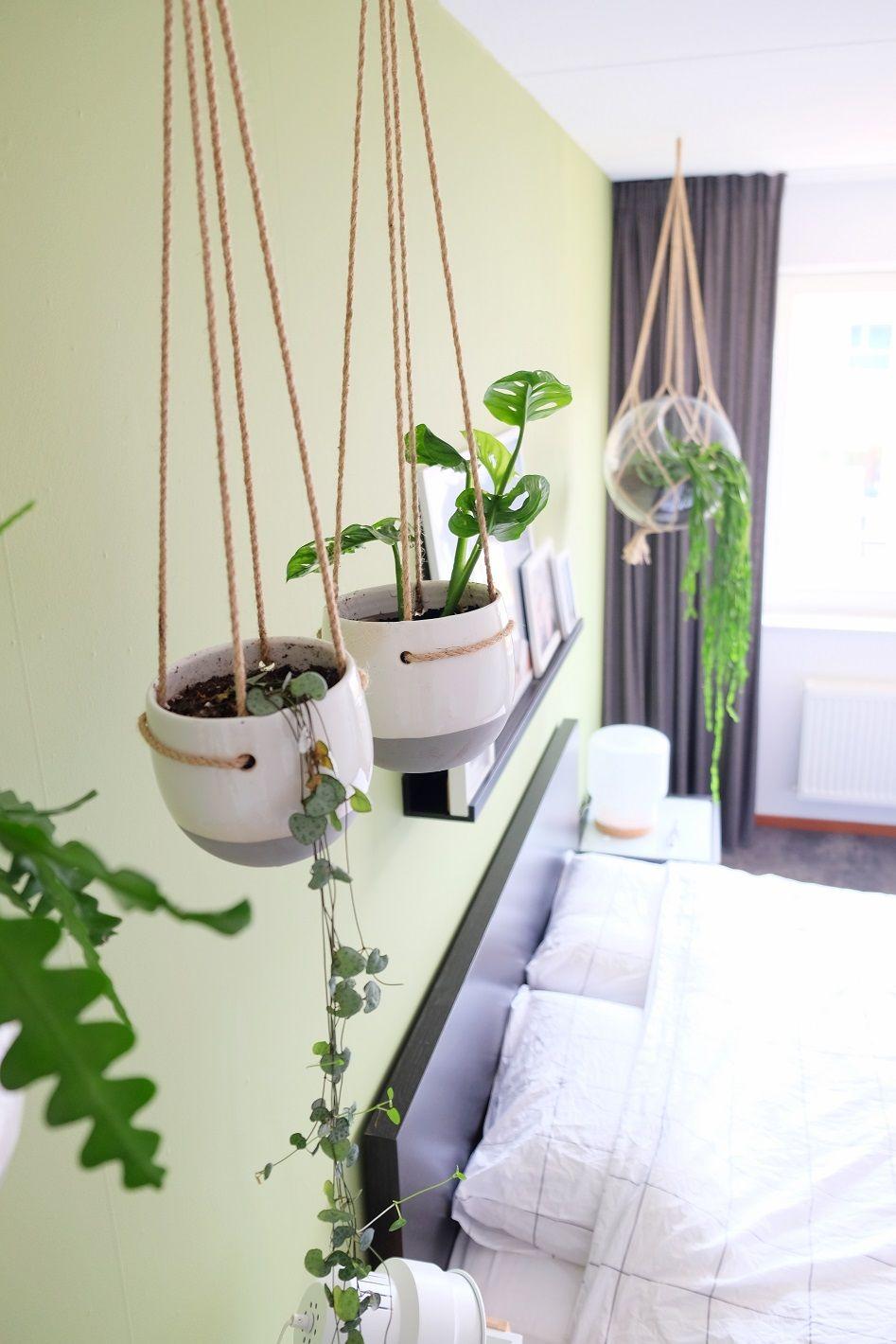 Groene slaapkamer, een oase van rust | Pinterest - Slaapkamer ...