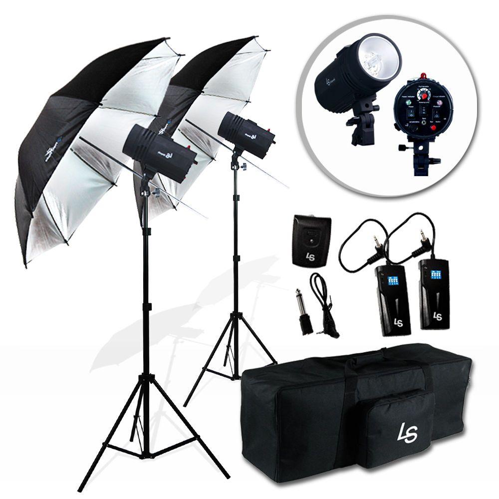 Godox 2*DE300 600W Photograp Studio flash Strobe Light Stand Trigger ...