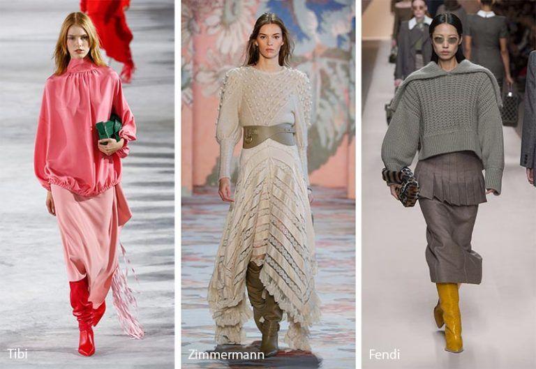 Fall Winter 2018 2019 Fashion Trends Mode Neuheiten 2018 2019