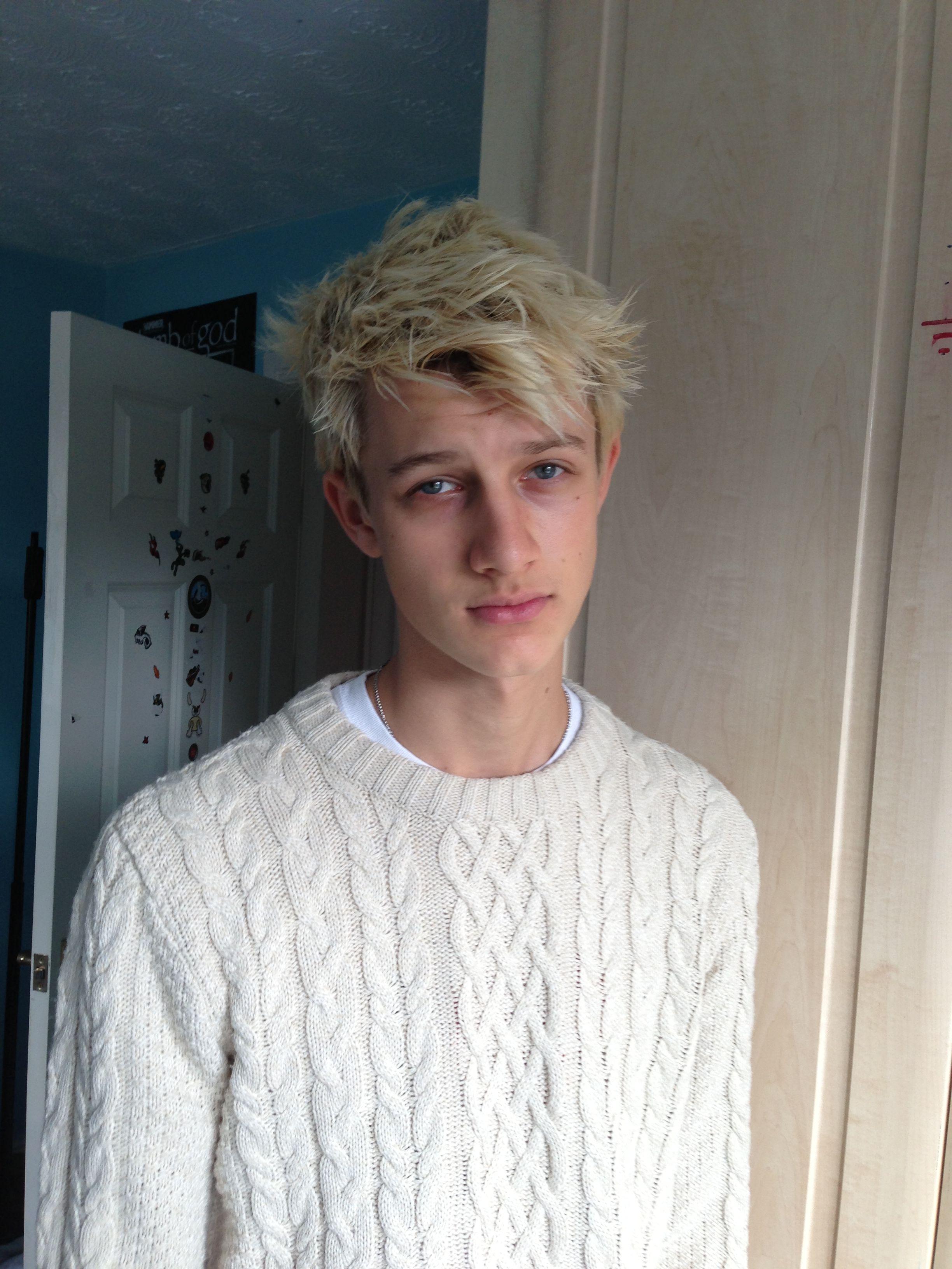 Blonde Luke!