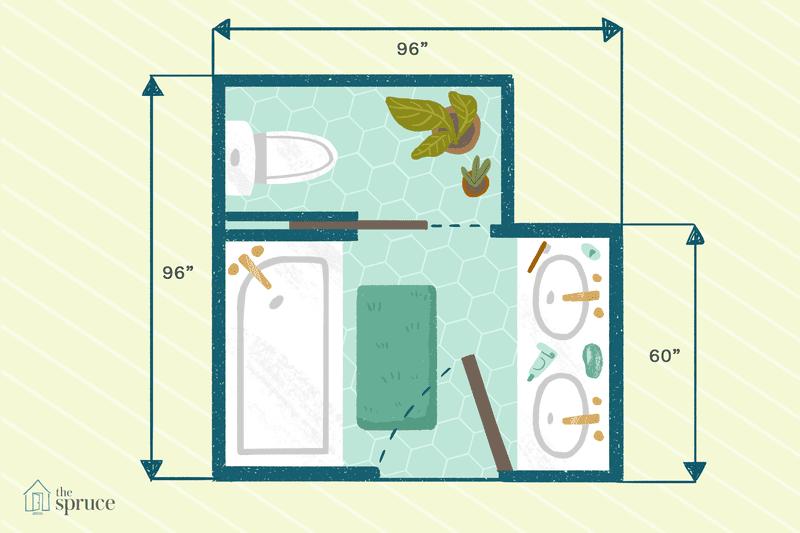 use these 15 free bathroom floor plans in 2020  bathroom
