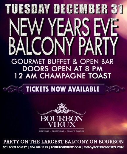 New Orleans New Years Eve New Years