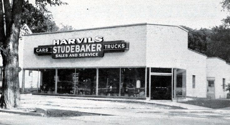 Chesterton, Indiana Harvils Studebaker, 1948 Studebaker