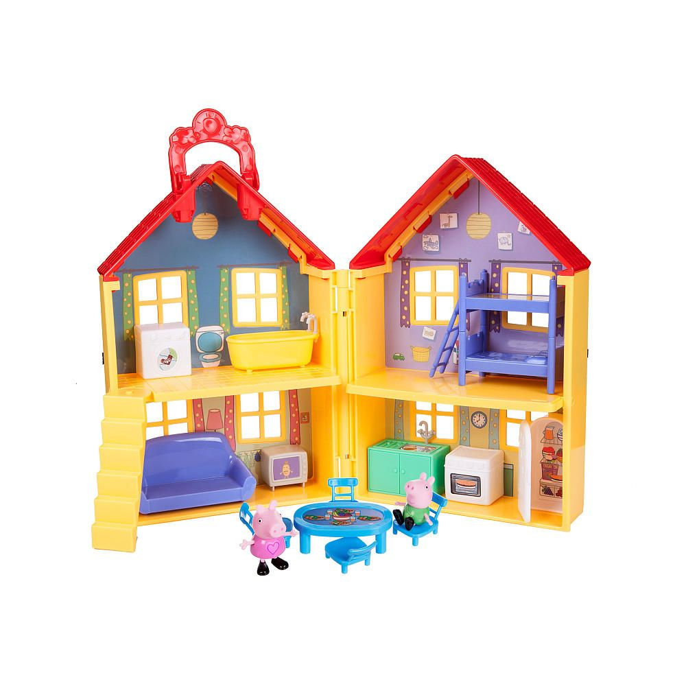 Video for Peppa Pig  Peppas Deluxe House showcasing product