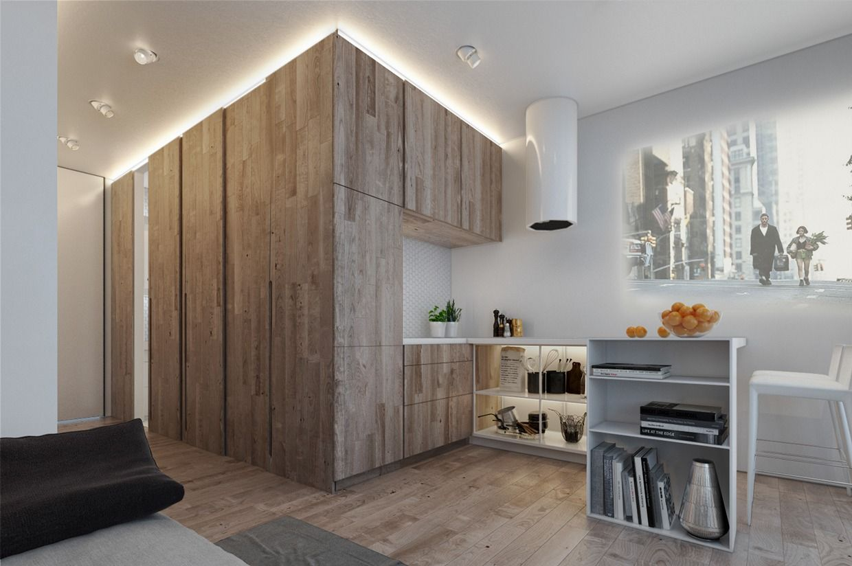 In Design, As In Life, Bigger Is Not Always Better. In Microlofts