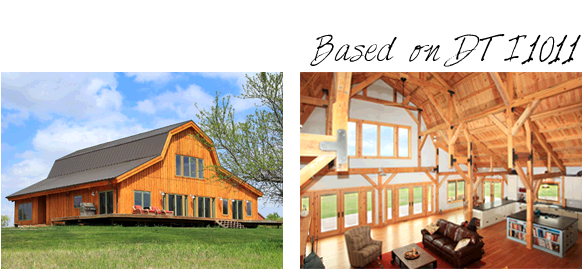 Pre Designed Homes Image Example Great Plains Gambrel Barn