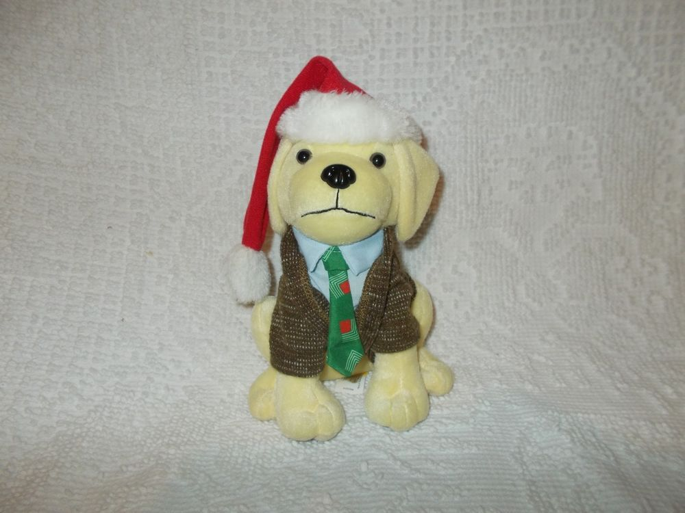 raising canes clark griswold plush dog puppy lampoons christmas vacation