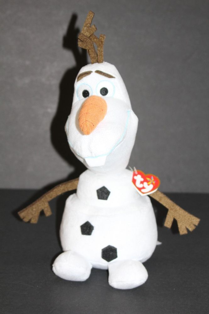 Disney Frozen OLAF TY Beanie Babies Snowman 12