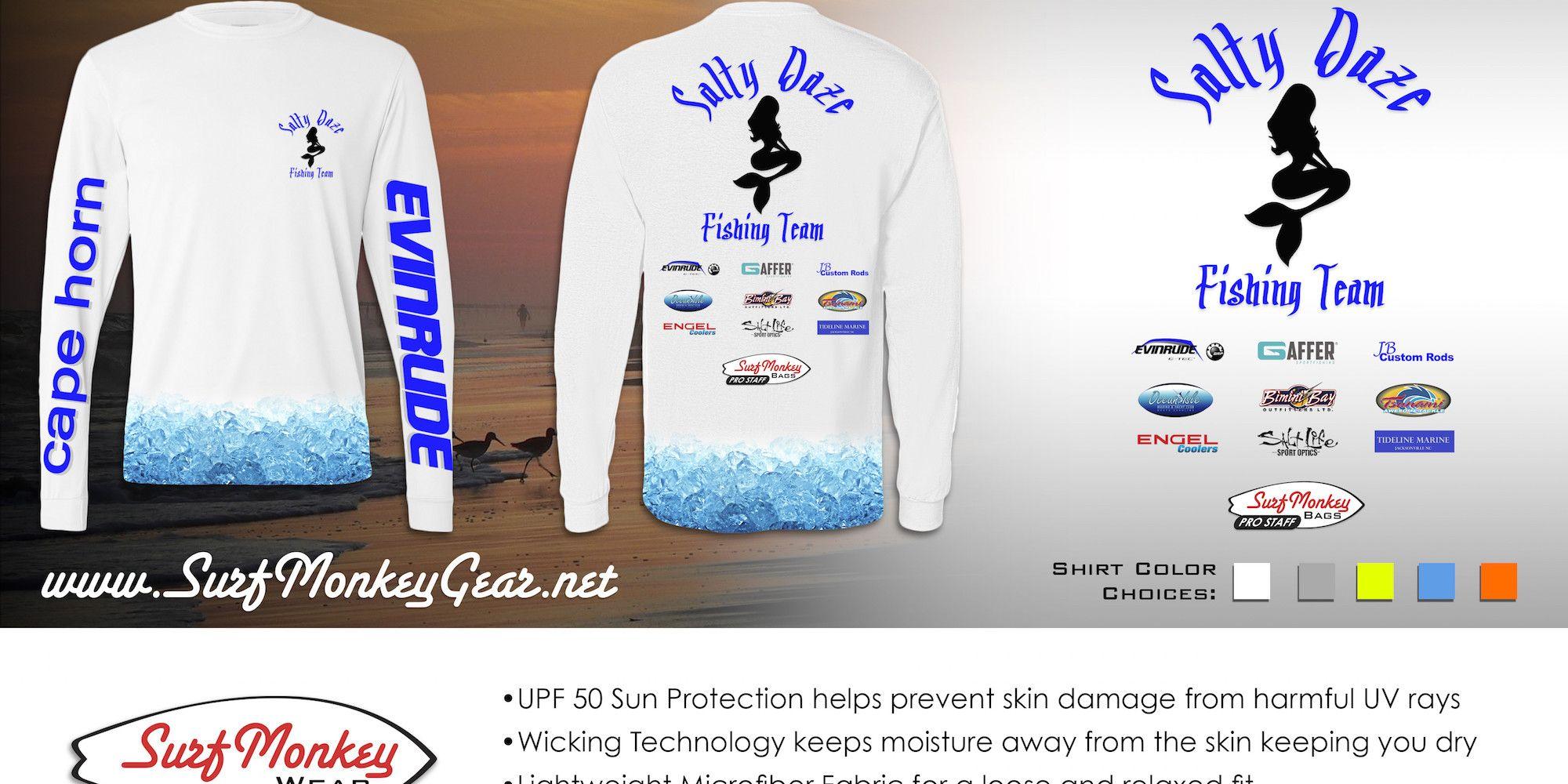 Custom Performance Apparel   Surfmonkey Wear