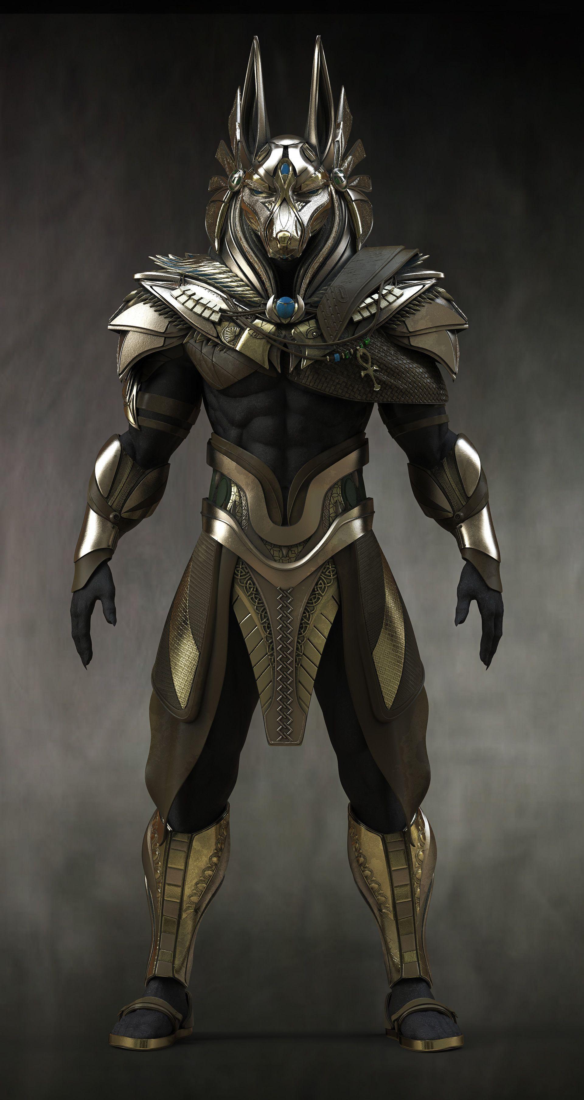 Concept Art Egypt Armor