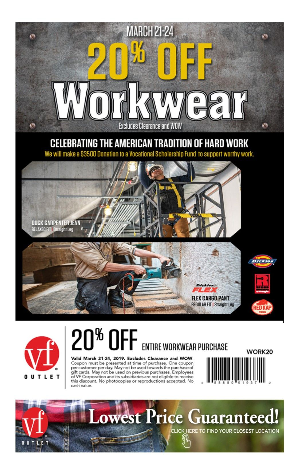 american worker coupon