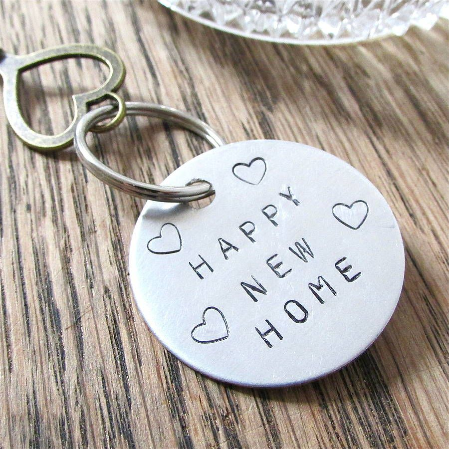 House warming new home key ring new homes happy new