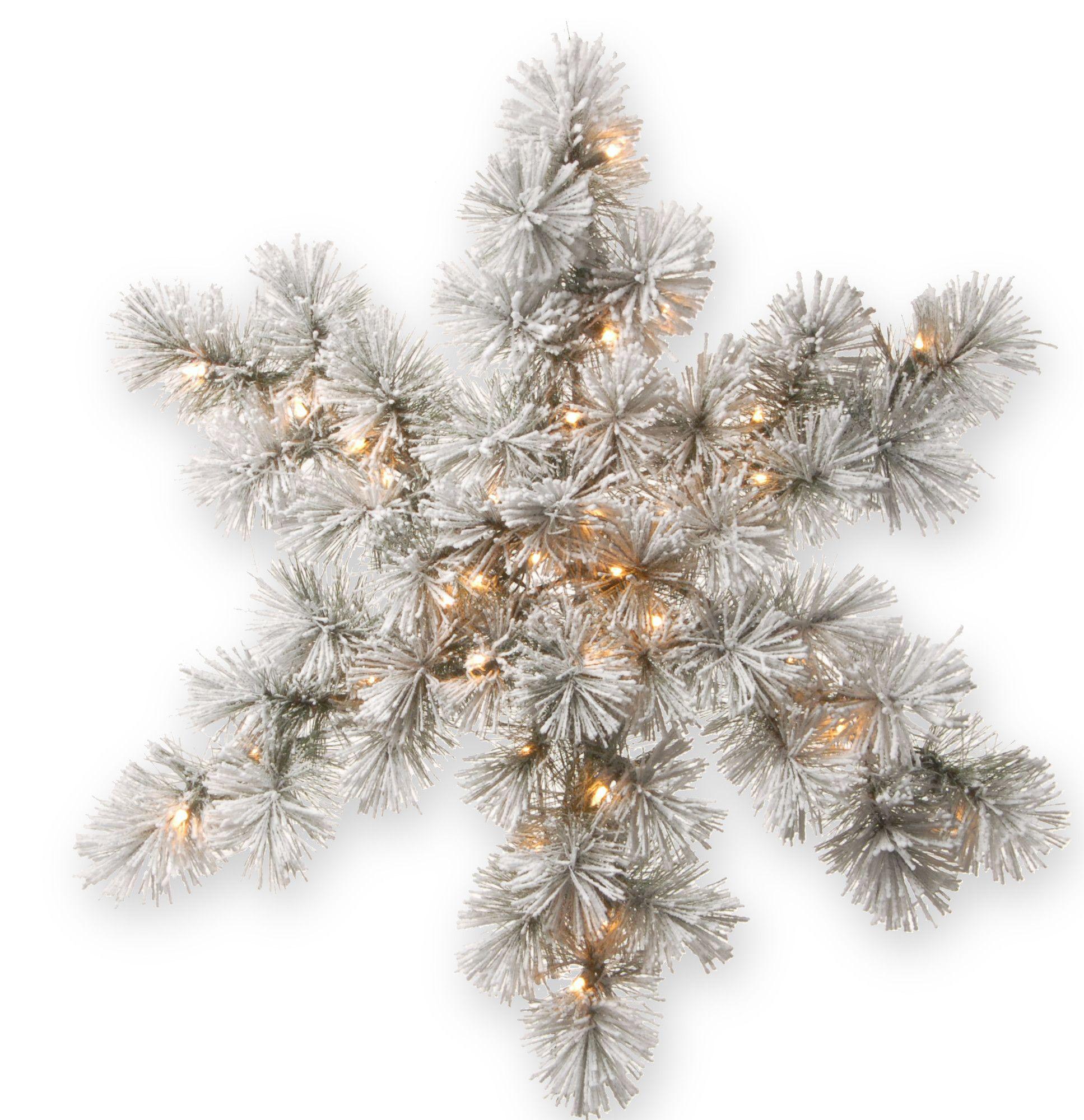 Snowy Bristle Pine Snowflake