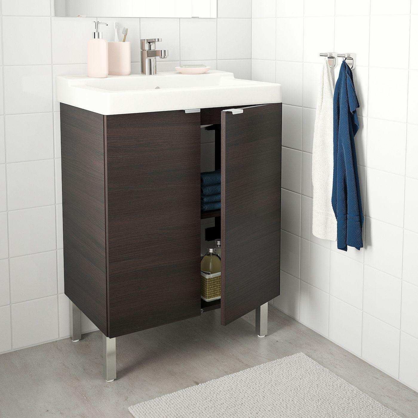 IKEA LILLÅNGEN / TÄLLEVIKEN Bathroom vanity w 2 doors i
