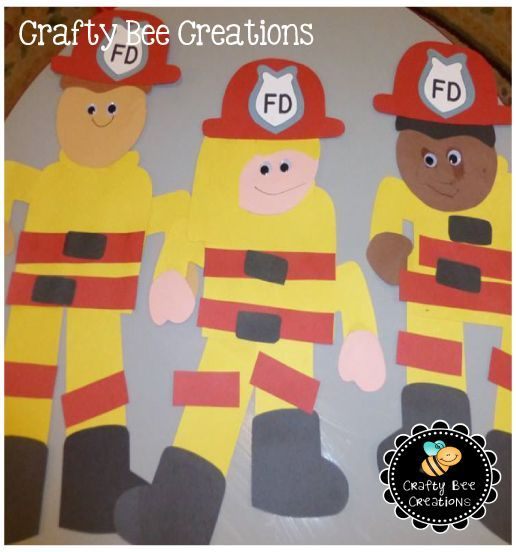 Firefighters save lives everyday. Get your students excited about them by having them create a large scale fireman cut and paste of themselves as a fireman. Just download patterns, copy onto construction paper, and have your students cut and paste them together.