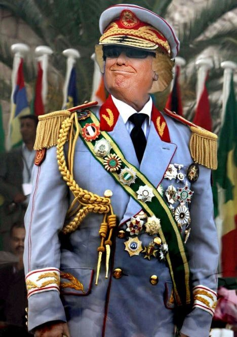 Pin by Cecil N Alderson on Trump | Military costumes, African dictators, Dictator