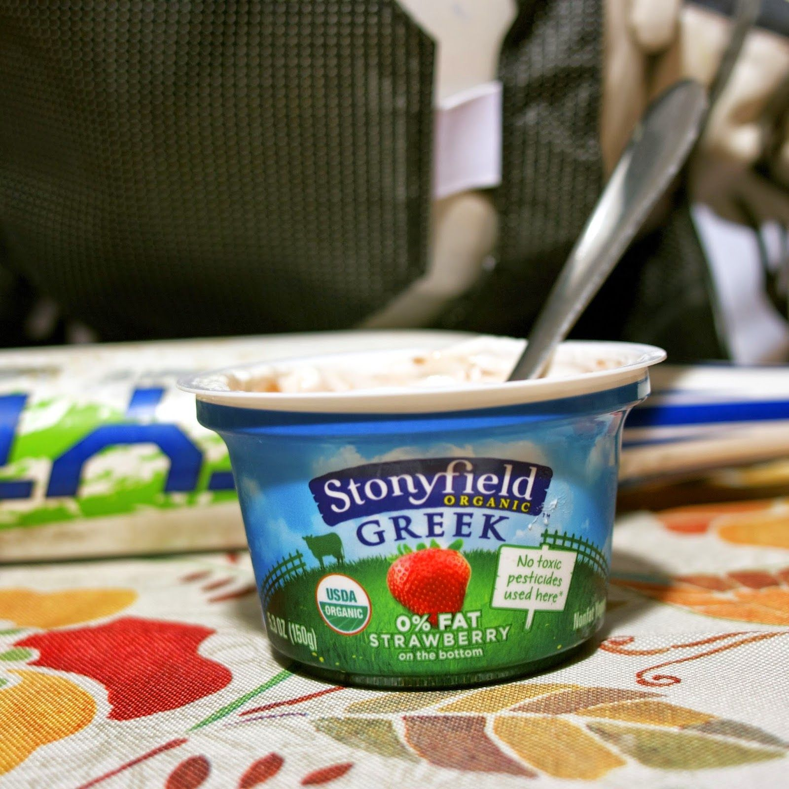 stonyfield greek yogurt as a snack simplelivingeating