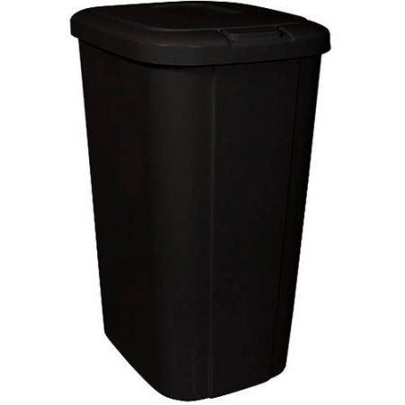Touchless Garbage Can Small Size Of Hefty Premium On Gallon Bronze Plastic Trash With