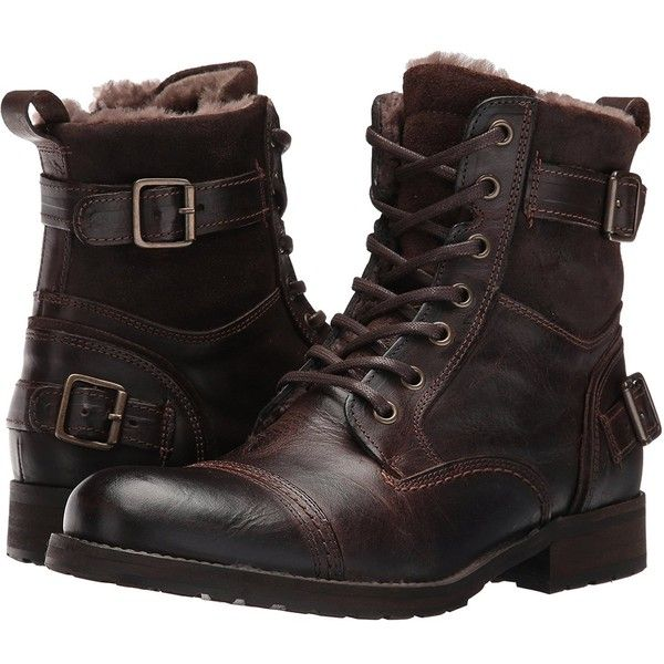 d2fba0cf84 Aldo Men's Gerrade Combat Boot ($83) ❤ liked on Polyvore featuring men's  fashion,
