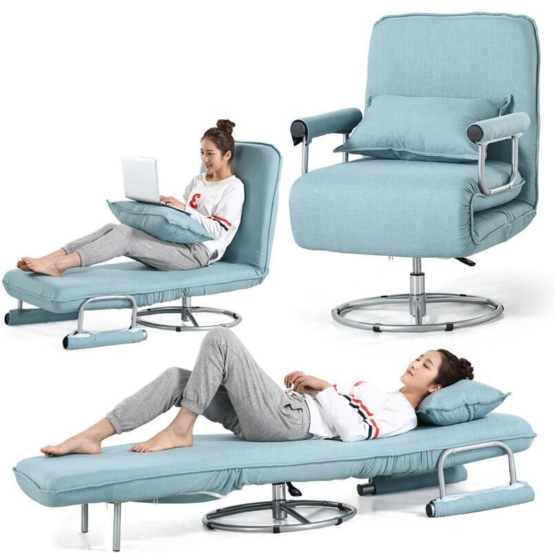Multi Functional Folding Living Room Office Recliner Chair Sofa