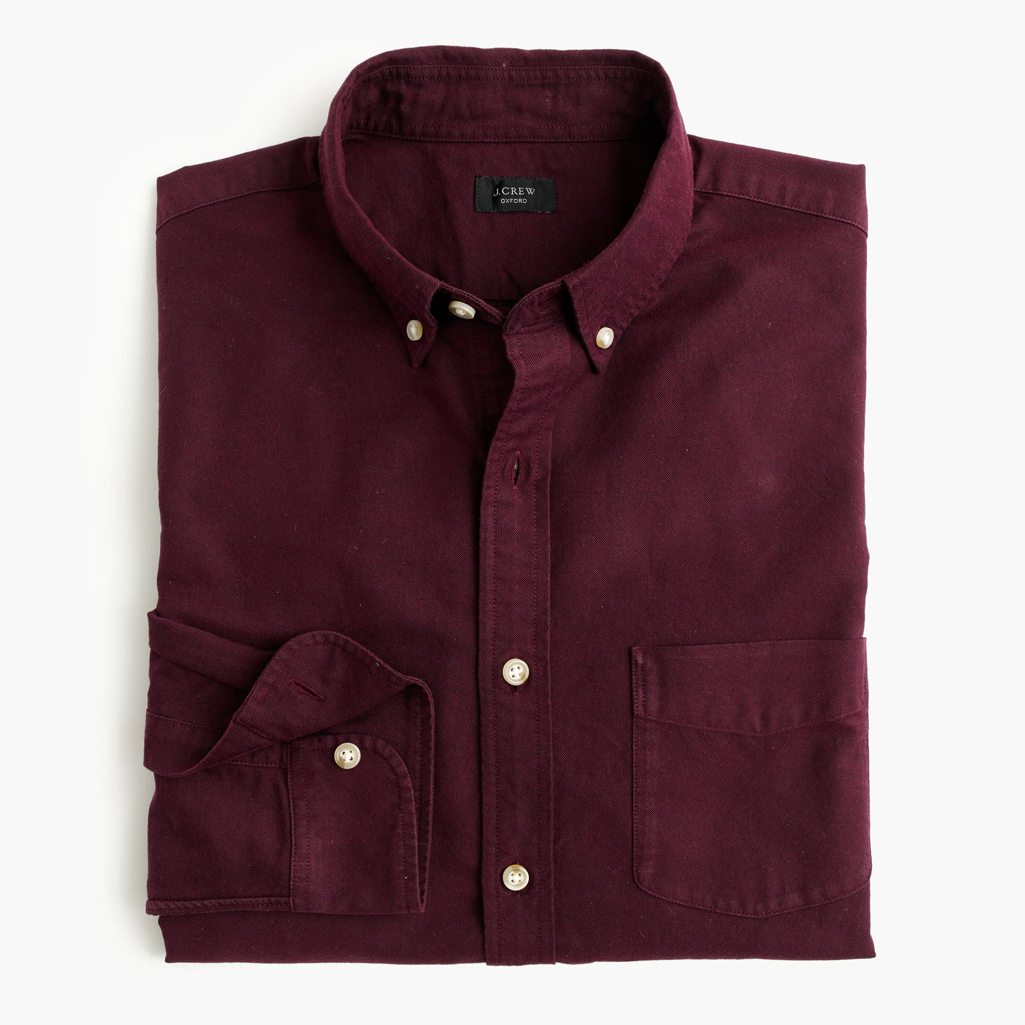 Slim vintage oxford shirt in tonal cotton : oxford | J.Crew