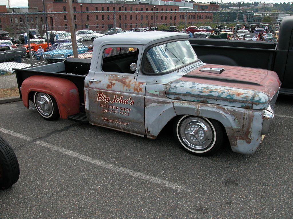 rat+rod+truck | rat rod trucks have a permanently under construction ...