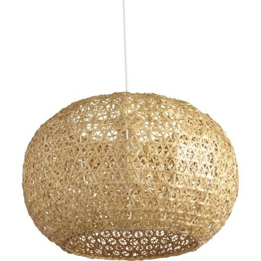 Suspension E27 Bord De Mer Hana Bambou Naturel 1 X 60 W Inspire