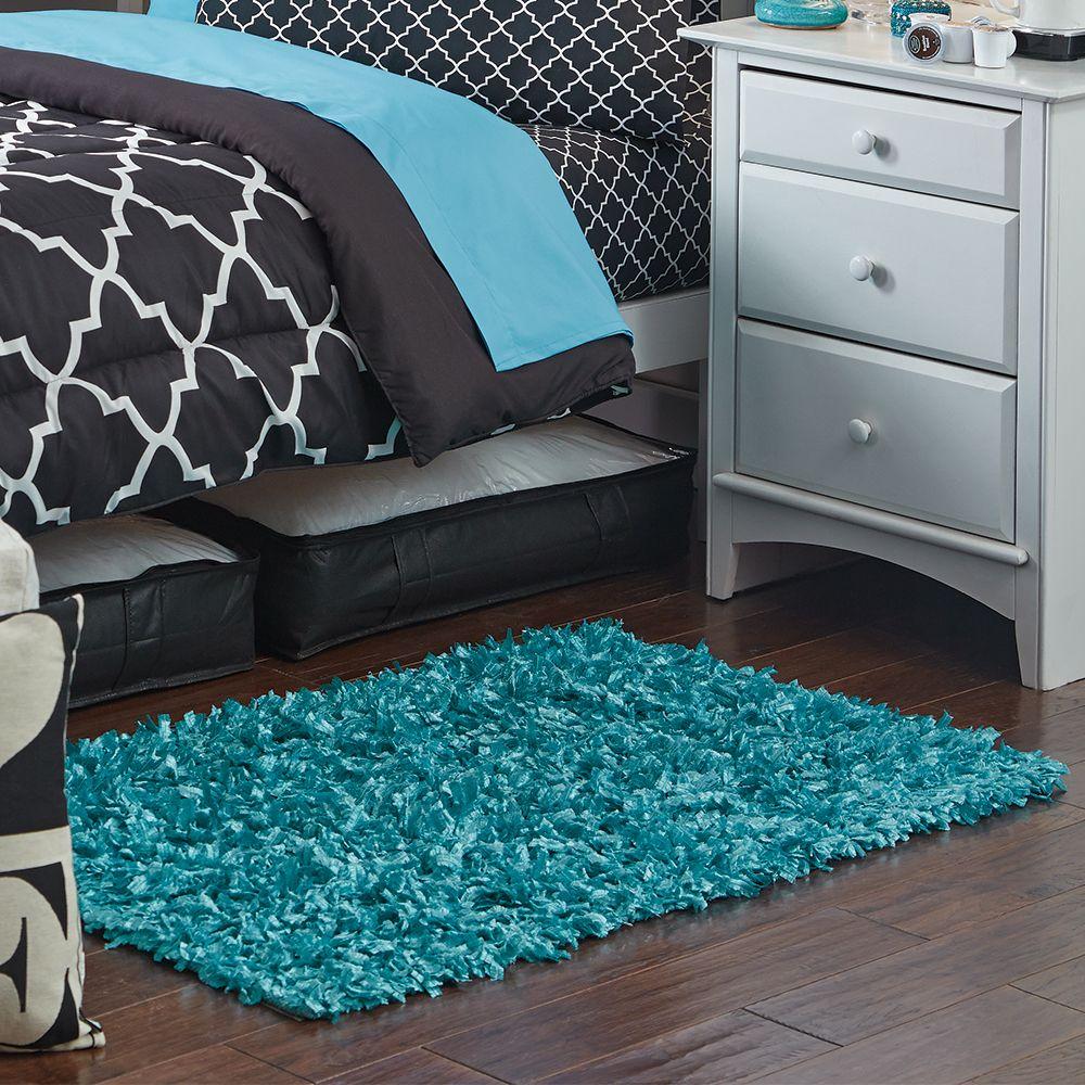 Small Shag Scatter Rugs   Dorm Room Decor   OCM.com