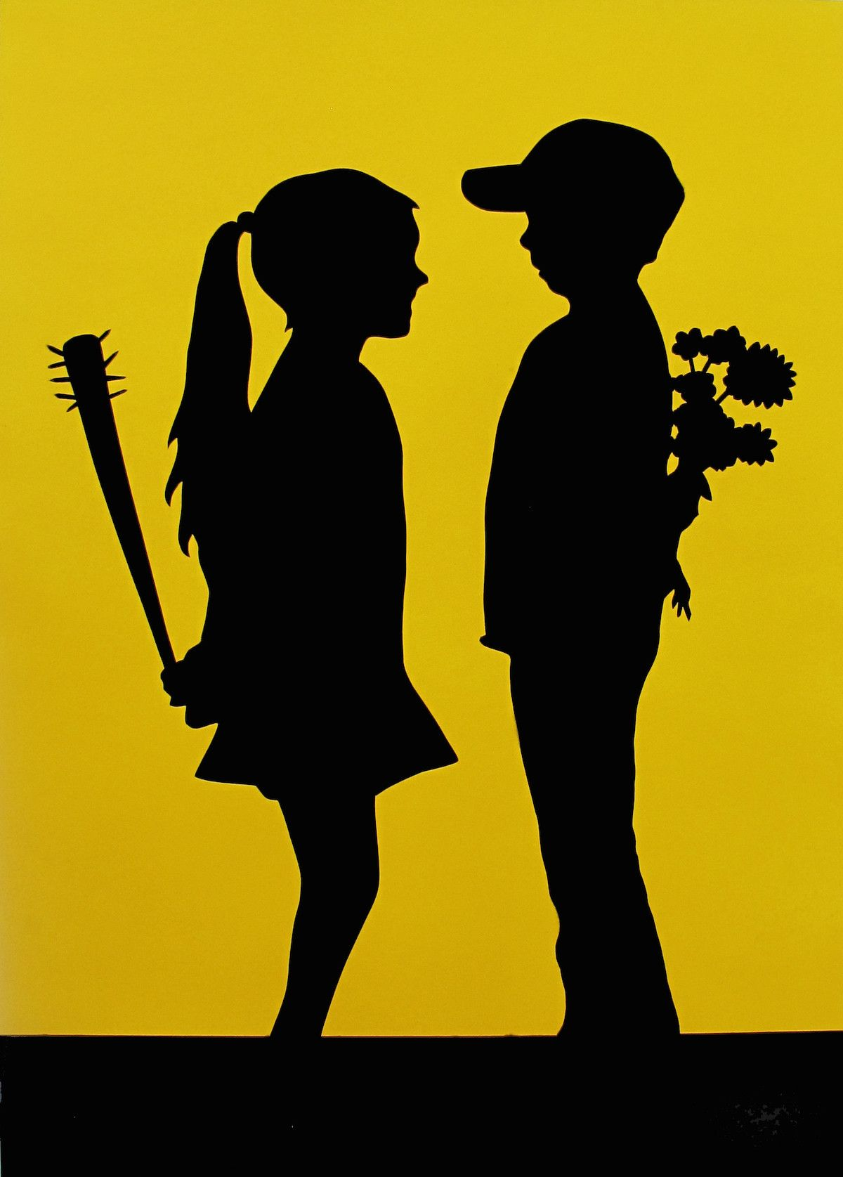 FAKE: Fake love (yellow) | Urban Contemporary Art | Pinterest ...