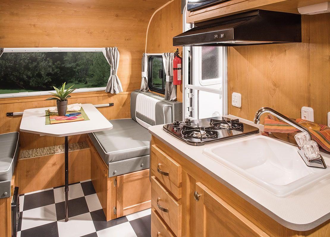 Retro Lightweight Travel Trailer Floorplans Riverside RV