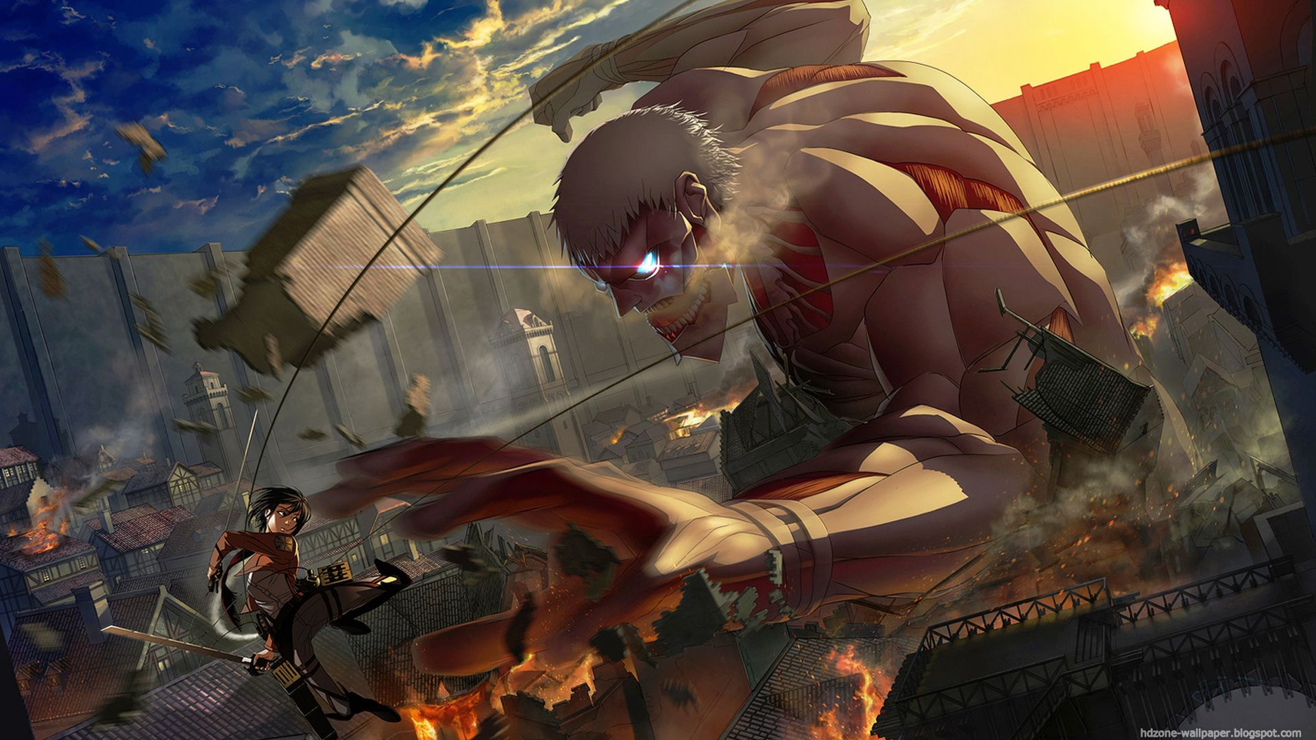 Themed Anime List (With images) Attack on titan art
