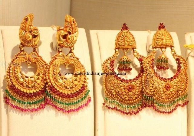 6cb6d2761 Chandbalis from TBZ | wedding jewellery | Jewelry, White gold ...