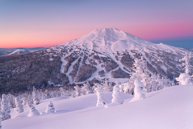 mount bachelor, oregon.