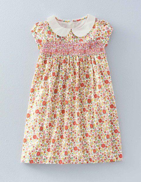 12d07e69f39b0d Hübsches gesmoktes Kleid 33419 Casualkleider bei Boden | Mädchen ...