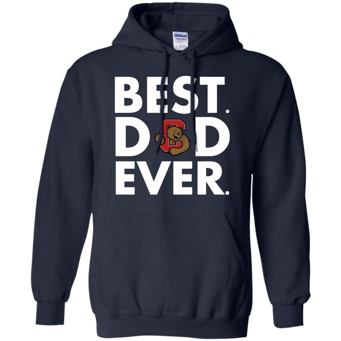 Father s Day Cornell Big Red T shirts Best Dad Ever Hoodies Sweatshirts
