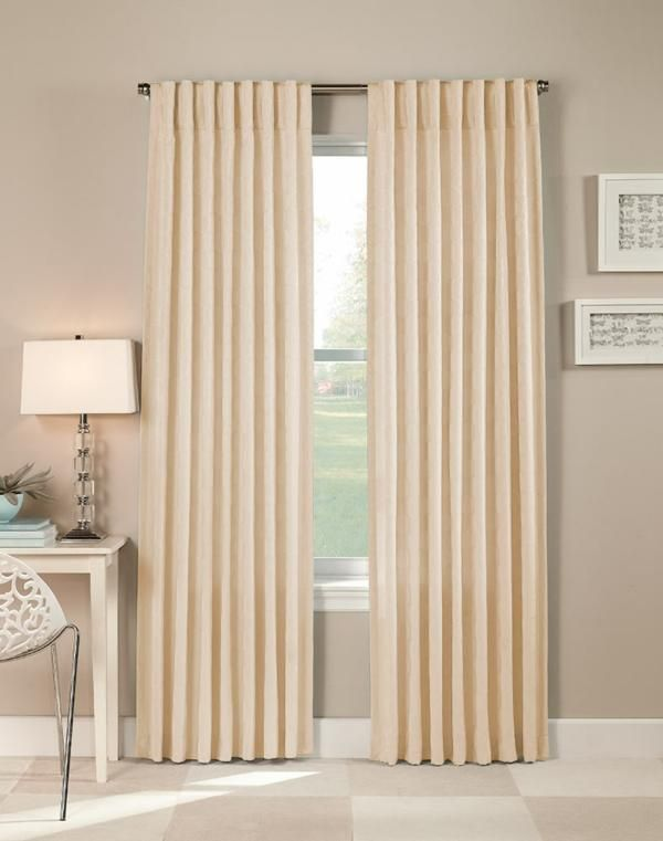Amazing Cream Colored Grommet Curtains   Cream Drapes Can Add A Contemporary Formal  Air To A Space