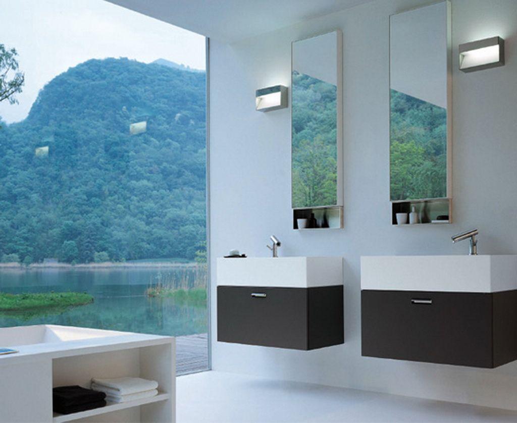 Modern Interior Design Bathroom mountain modern mirror bath | bathroom: modern house design photos