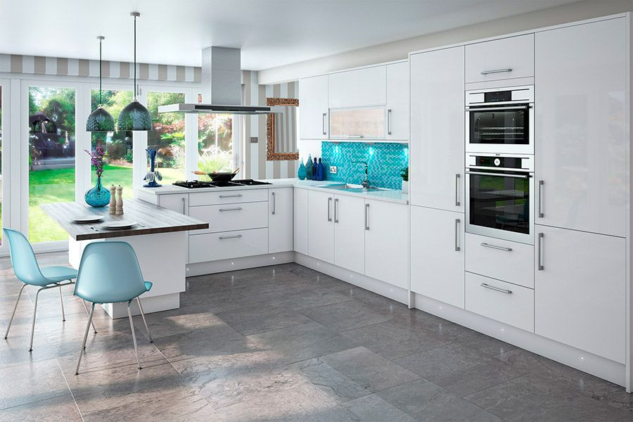 High Gloss Kitchens & Kitchen Units At Trade Prices - DIY ...