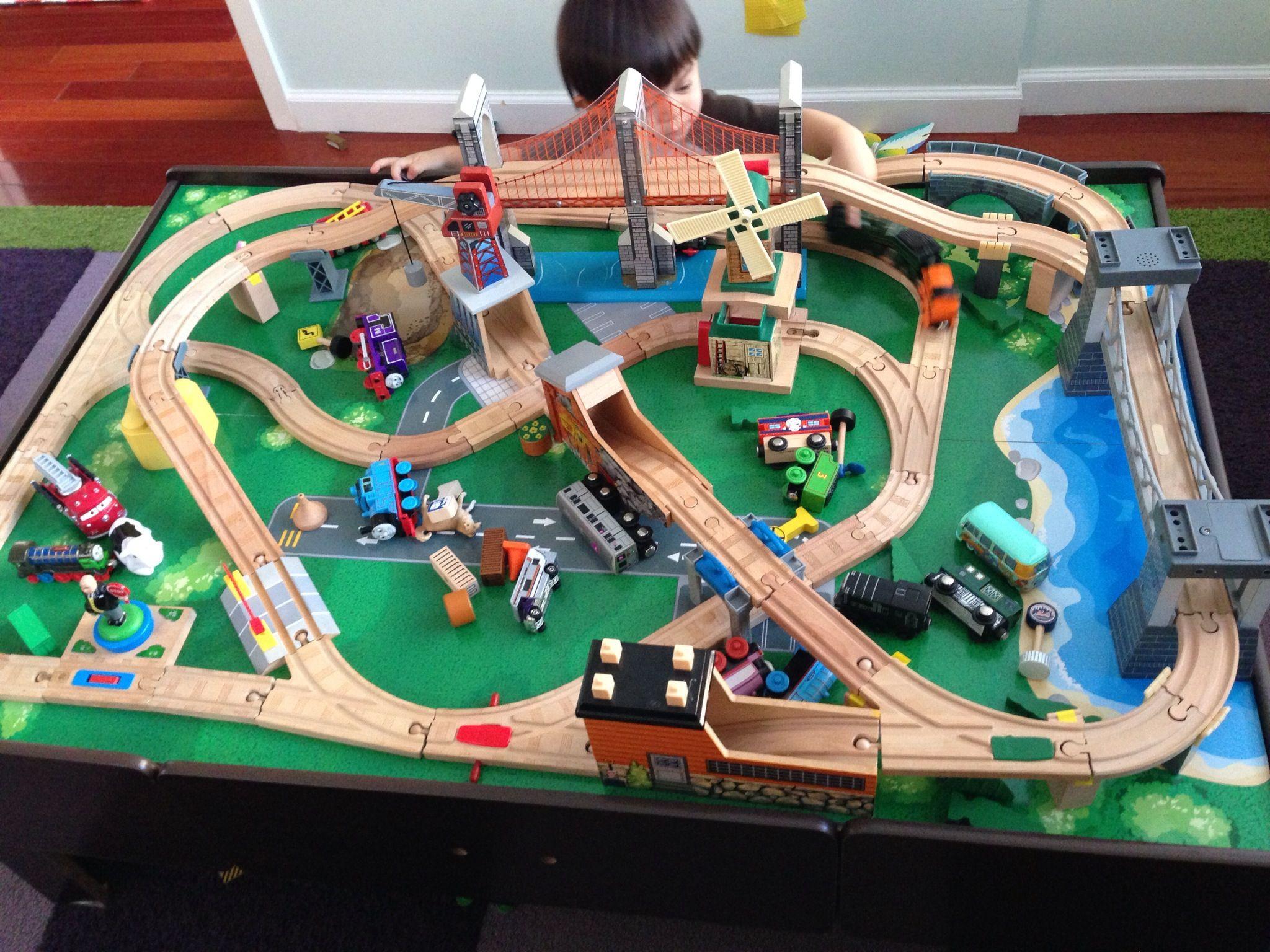 Kids Stuff, Wooden Railway, Thomas The Train, Track Layouts, Advanced  Layoutu2026